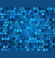 elegant dark blue geometry endless pattern with vector image
