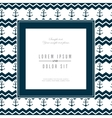 frame maritime nautical isolated vector image