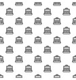 money case pattern seamless vector image vector image