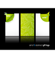 Nature gift cards vector | Price: 1 Credit (USD $1)
