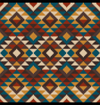 Traditional Tribal Aztec seamless pattern vector image