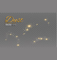 a set of lightning magic and bright light effects vector image
