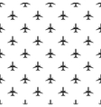 Airplane pattern simple style vector image vector image