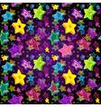Bright seamless Christmas pattern vector image vector image