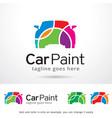 car paint logo template