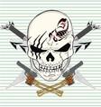 Sword skull gun