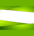 Tech corporate abstract green background vector image vector image