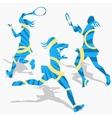 womens tennis sport vector image