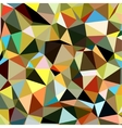 Colorful Triangle Abstract Background vector image vector image
