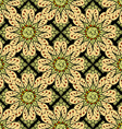 Floral Patterned Wallpaper vector image vector image