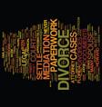 forget divorce court most florida divorces never vector image vector image