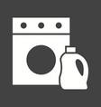 laundry detergent vector image