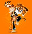 Pencak Silat Martial Arts vector image vector image