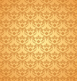 seamless vintage background Calligraphic pattern vector image vector image