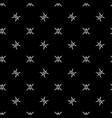 stars geometric seamless pattern 1809 vector image vector image