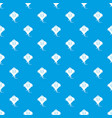 stingray pattern seamless blue vector image vector image