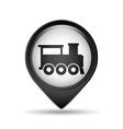 symbol train traditional icon vector image