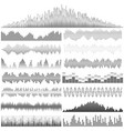soundwaves-31 vector image