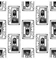 Audio Cassette Art for t-shirt design vector image
