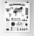 elements of info graphics vector image vector image