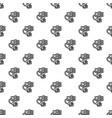 handcuffs bribery pattern seamless vector image vector image
