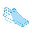human hand 3d vector image vector image