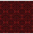 seamless floral pattern indian style vector image vector image