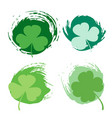 st patricks day green texture vector image vector image
