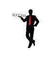 success businessman color vector image vector image
