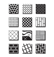 various external building surfaces vector image vector image