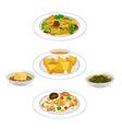 vegetarian vector image vector image
