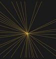 modern abstract rays of light and background vector image