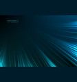 abstract background glow neon blue light lines vector image