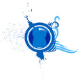 Blue Icon for Design vector image