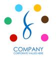 Peacock Business Logo vector image vector image