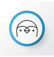 penguin icon symbol premium quality isolated vector image vector image