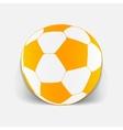 realistic design element ball vector image