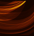 abstract fractal orange gradient background light vector image vector image