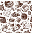 breakfast dishes background morning food hand vector image vector image