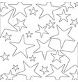 monochrome background with contour pattern of vector image vector image