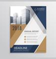 real estate brochure design vector image vector image