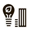 smart city buildings icon glyph vector image vector image