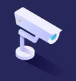 surveillance camera or cctv smart home security vector image