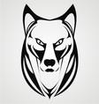 Wild Dog Face Tribal