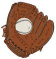 baseball catch glove