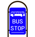 bus stop Converted 01 vector image vector image