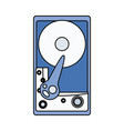 cd rom hardware vector image vector image
