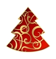 Fantasy fir tree vector image vector image