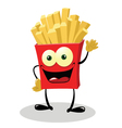 Friendly French Fries vector image