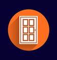Door icon button logo symbol concept vector image